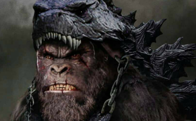 Kong kills Godzilla: New Godzilla vs. Kong fan art depicts Kong as the new King of Monsters!