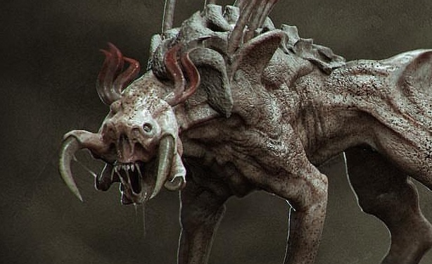 Kyle Brown shares new Predator Dog concept art from The Predator