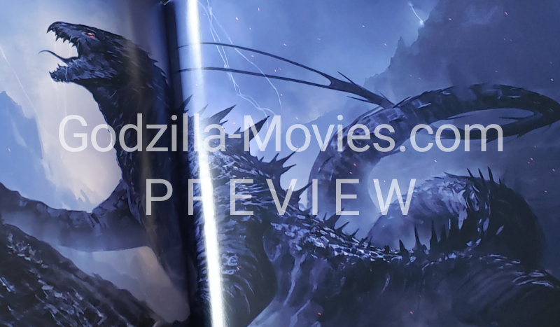 Godzilla's evolutionary ancestor revealed in the Godzilla vs. Kong Art Book! (PREVIEW)