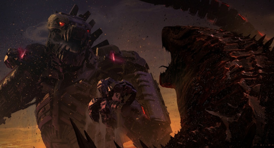 New Concept Art Shows Mechagodzilla and Godzilla Facing Off