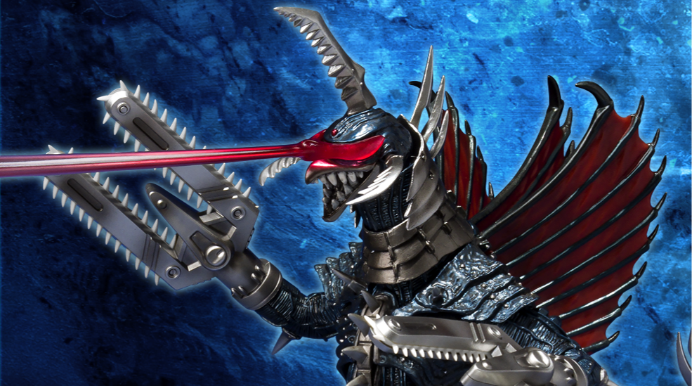 New S.H.MonsterArts Gigan (2004) Figure