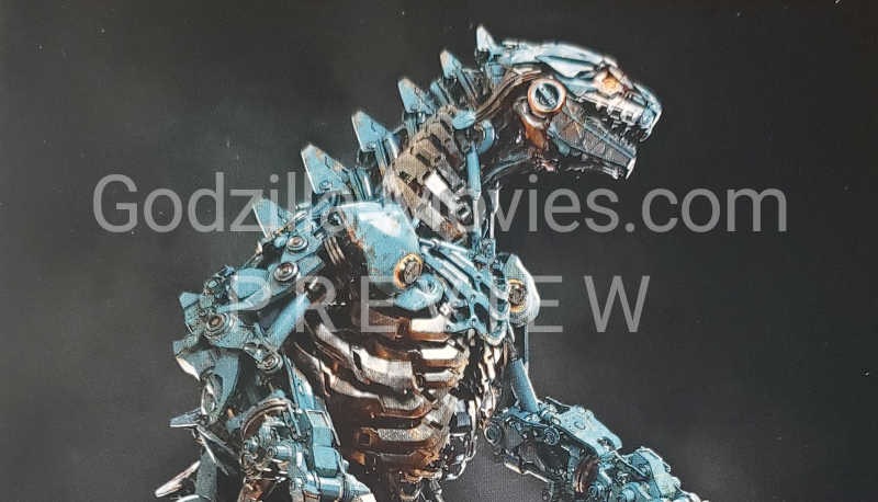 Radical alternative Mechagodzilla designs from the Godzilla vs. Kong Art Book! (PREVIEW)