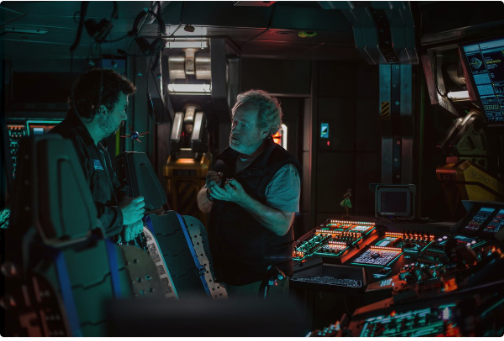 Mission Briefing - New Alien: Covenant set photo released!