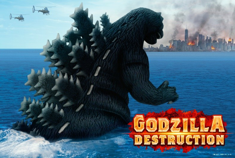 TOHO Games Releases Godzilla Destruction Worldwide!